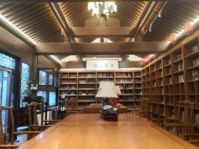 西城区椿树书苑阅读空间