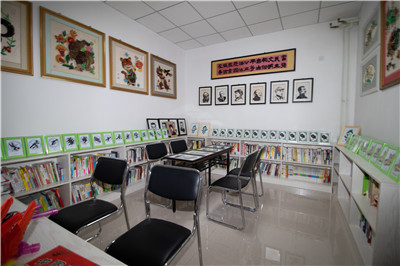 延庆区香水园街道川北西社区图书室